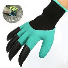 <b>1 Pair New Gardening</b> Gloves for Garden Digging Planting Garden ...