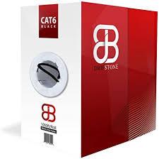Dripstone 600026 Cat6 1000' <b>UTP</b> Solid <b>Cable</b> 23Awg LAN <b>Network</b> ...