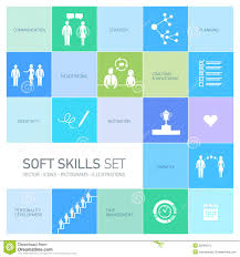 soft skills stock photos images pictures 416 images soft skills icons set stock photos