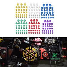<b>30Pcs</b> Tutup Baut Mur Motor Untuk Yamaha Kawasaki Honda ...