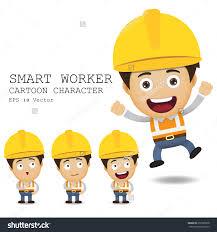 smart worker cartoons related keywords suggestions smart smart worker cartoon character eps 10 vector illustration 257285878