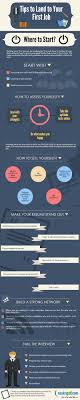 how to get your first job com infographic how to get your first job