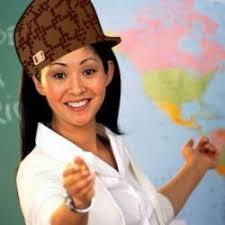Scumbag Teacher meme generator via Relatably.com