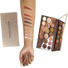 Eyeshadow and Pigments Palette <b>REVOLUTION MAKEUP Precious</b> ...