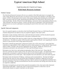 authentic assessment work based learning agreements and field study job description 1