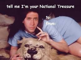Nick Cage Valentine's Cards Are Weird | Memes and other funny ... via Relatably.com