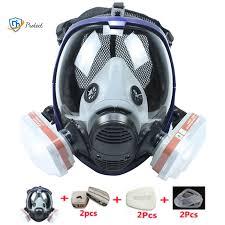 Chemical <b>Mask</b> 6800 7 in 1 Gas <b>Mask Dustproof Respirator</b> Paint ...