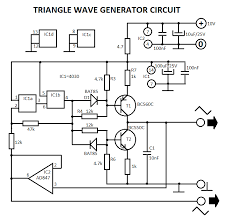 audio generators projects circuitstriangle wave generator circuit