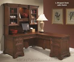 perfect l shaped office desk with hutch for home qqd15 awesome shaped office