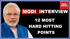 most hard hitting points of pm modi s interview to today 12 most hard hitting points of pm modi s interview to today group