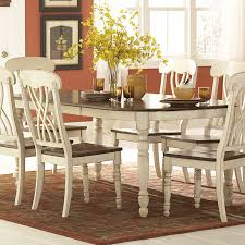 homelegance casual weathered wood finish dining
