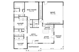 Prairie Style House Plans   Sahalie     Associated Designs    Prairie Style House Plan   Sahalie     Floor Plan