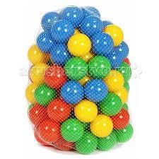 <b>BabyOne</b> Ching-Ching Комплект шариков 100 шт (7 см ...