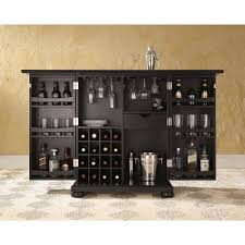 crosley furniture alexandra expandable bar cabinet walmartcom alexandra furniture