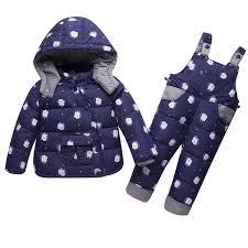 Infant <b>Baby Girls Winter</b> Coat Snowsuit Unicorn Outerwear Duck ...