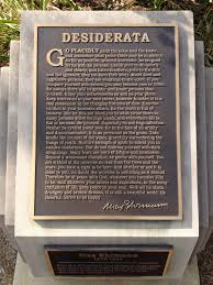 in search of desiderata new essay on the poetry foundation 4849