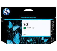 <b>HP</b> No.<b>70</b> Ink Cartridge <b>Green</b> 130ml (<b>Vivera</b>) (C9457A)   CAD and ...