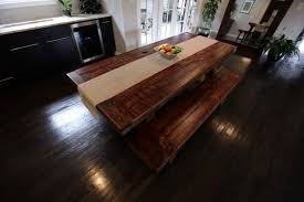 Custom Wood Dining Room Tables Farmhouse Wooden Kitchen Tables As Ageless Rustic Interior Design