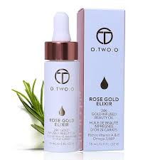 <b>O</b>.<b>TWO</b>.<b>O 24k Rose Gold</b> Elixir Skin Make Up Oil for Face Before ...