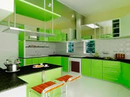 Lemon And Lime Kitchen Decor Magnificent Sleek Green Kitchen Design Ideas Design Architecture