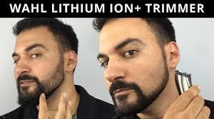 Beard Trimming - <b>Wahl</b> Lithium Ion Plus Trimmer - Model 9818 ...