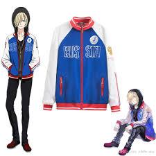 YURI on ICE <b>Yuri Plisetsky</b> Hoodie Coat Sportswear Jersey Uniform ...
