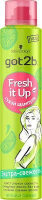 "Got2b Fresh it <b>Up</b> Парфюмированный сухой шампунь ""Экстра ..."