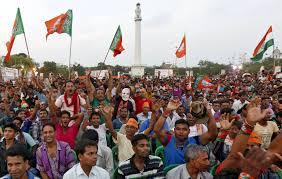 الهند - مظاهرات للمطالبة بالافراج عن زعيم تحولت الى اعمال عنف في ميهسانا