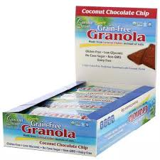 Coconut Secret Chocolate Chip <b>Crunchy Grain-Free Granola Bar</b>