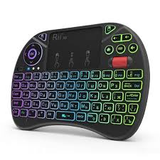 <b>RII X8 Plus 2.4GHz</b> Wireless Keyboard Russian Version Black