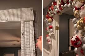 Savvy mum makes stunning <b>Christmas arch</b> using two household ...