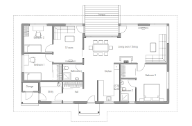 Affordable Home Plans  Affordable Home Plan CH Small Affordable Home Plan