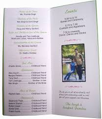 best images of th wedding anniversary program samples th 50th birthday party program sample