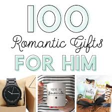 100 Romantic Gifts for Him - From The Dating Divas