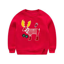 Buy Toddler Boy's <b>Sweatshirt Cartoon</b> Design <b>Thickened</b> Warm ...