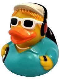 """Игрушка для ванной """"Уточка диджей"""" <b>Funny ducks</b> 4110927 в ..."""
