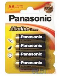 <b>Батарейки</b> Panasonic Alkaline Power LR6REB/4BP AA 4 шт ...
