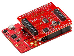 DC <b>motor shield with</b> TLE94112EL for Arduino