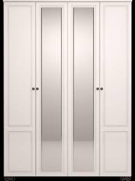 <b>1 Шкаф для одежды</b> 4-х дв. с зеркалом «Лукреция»