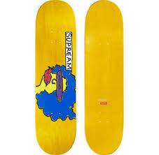<b>SUPREME</b> Gonz Ramm Skateboard Deck <b>Red</b> Green Purple <b>Yellow</b> ...