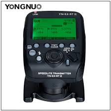 Speedlite Transmitter <b>YN</b>-E3-<b>RT II</b>