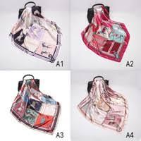 Patterned Silk Scarves for Sale