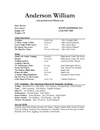 acting resume template free acting resume template word actors resume template word