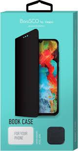 Чехол BoraSCO by Vespa <b>Book Case для Xiaomi</b> Redmi Note 8 Pro ...
