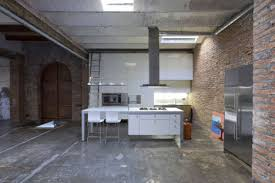 concrete kitchen flooring loft the surfaces were then sealed in a protective clearcoat so youre not c