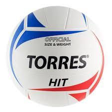 <b>Мяч волейбольный TORRES</b> Hit V30055, размер 5 — купить в ...