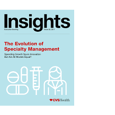 evaluating new specialty management models cvs health insights executive briefing pdf cover page