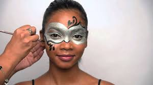 create a costume with just your makeup we show you how to paint a masquerade mask with your cosmetics so you will have everyone mesmerized by