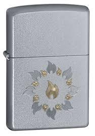 Купить <b>Зажигалка ZIPPO Ring</b> of fire Satin Chrome 21192 ...