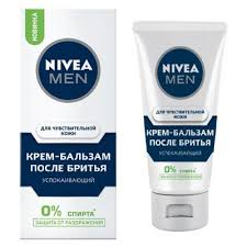<b>Крем</b>-<b>бальзам после бритья Nivea</b> for Men, для чувствительной ...